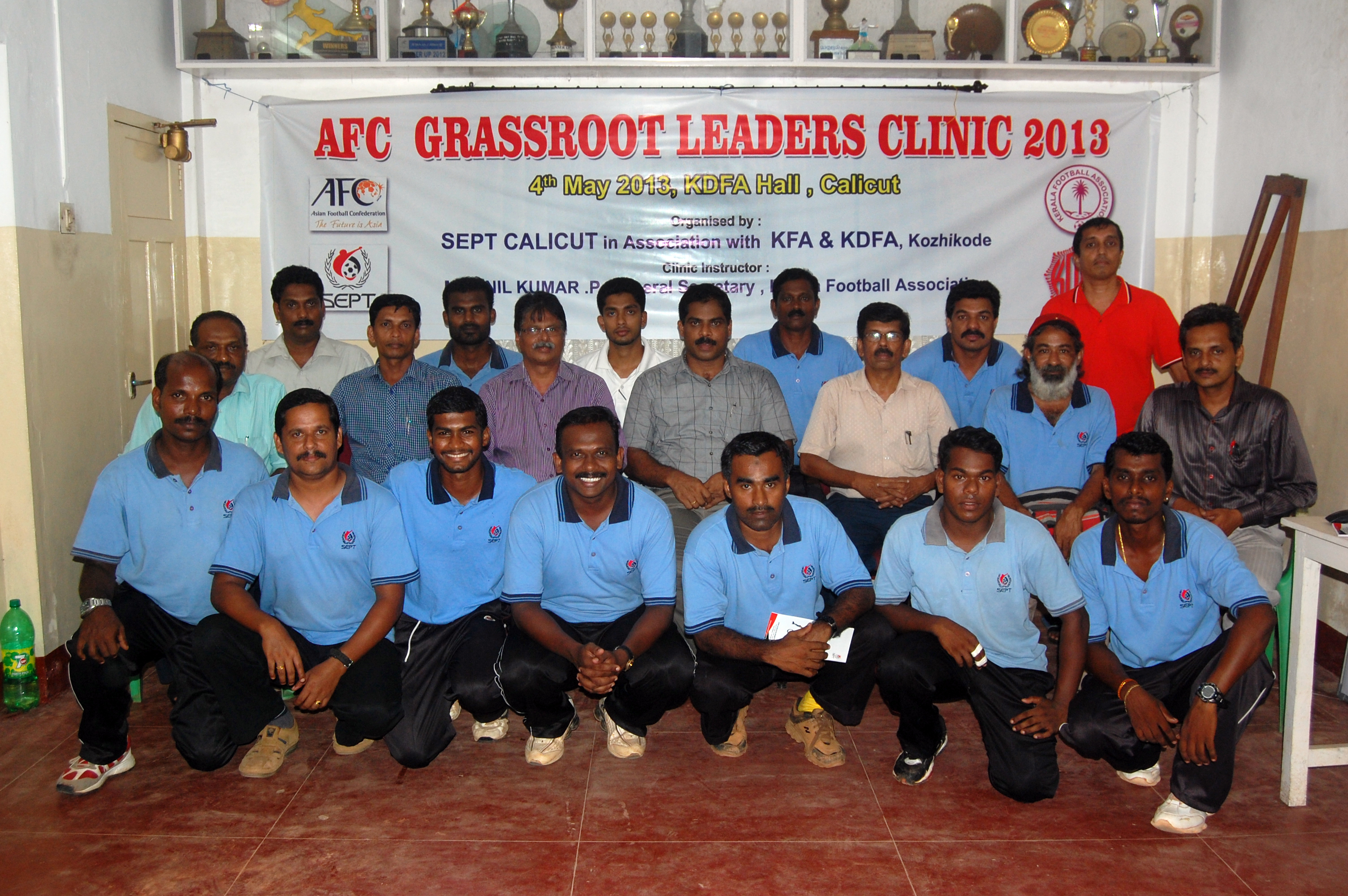 AFC GRASS ROOT LEADERS CLINIC 2013